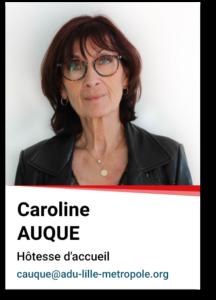 Caroline Auque
